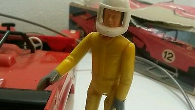Vintage Car Piko Germany Racing Sport Ferrari 312 Pb Large Toy Battery Operated