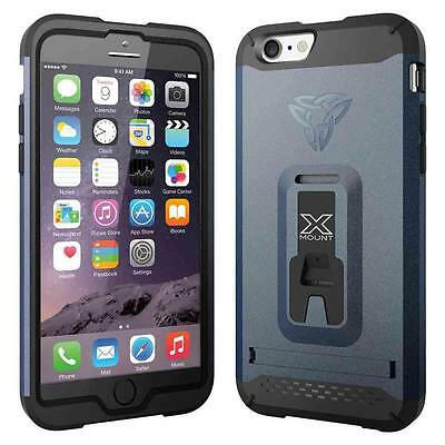 Armor-x Cases Rugged Case Kickstand Belt Clip For Iphone 6 Navy   Photo video