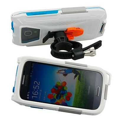 Armor-x Cases All Weather Bike Mount For Samsung S3 / S4 White   Photo video