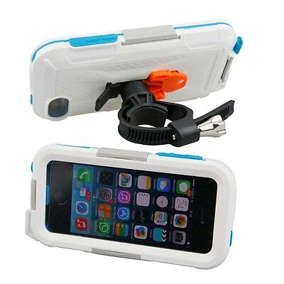 Armor-x Cases All Weather Bike Bar Mount For Iphne 5 White   Photo video