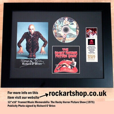 The Rocky Horror Show SIGNED BY RICHARD O'BRIEN Autographed Film Memorabilia