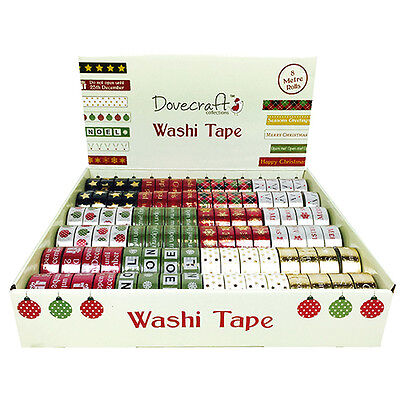 Dovecraft Weihnachten, Christmas Washi Tape Box- Traditional