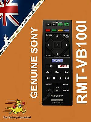 SONY Genuine Blu-ray Disc / DVD Player REMOTE RMT-VB100i RMTB100i RMT-VB100 i