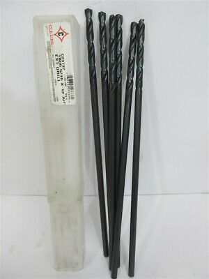 """Cle-Line C23737, 5/16"""" x 12"""", HSS, Aircraft Extension Drill Bits - 1 lot of 6 ea"""