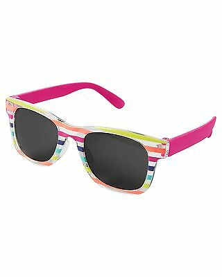 New Carter's Baby 1 2 Year Old Sunglasses Size 0-24m  NWT Striped Way Farer