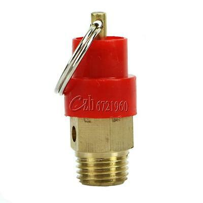 """1/4"""" 8Kg BSP Pull to Release Air Compressor Safety Valve Pressure Relief Release"""