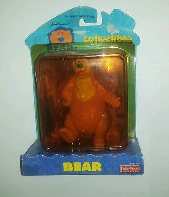 Disney Bear In The Big Blue House Bear Figure Collectibles New Sealed 89577-91