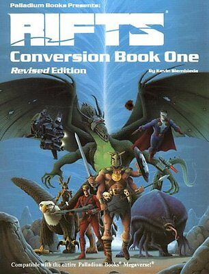 Rifts RPG: Conversion Book 1 Revised PAL 0803
