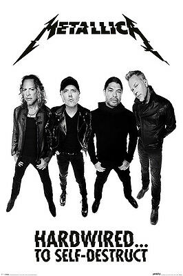 Metallica (Hardwired Band) - Maxi Poster - 61cm x 91.5cm - PP34025 - 572