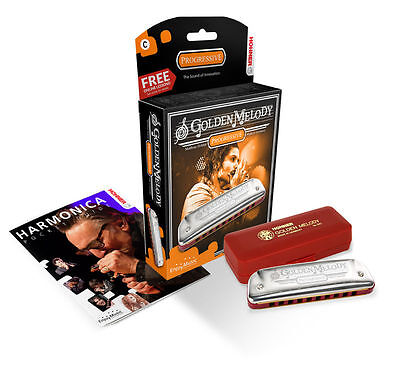 Hohner Golden Melody 542 Harmonica Key Of F Made In Germany New In Pack Sale