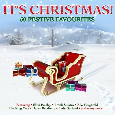 It's Christmas! VARIOUS ARTISTS Best Of 50 Classic Holiday Songs MUSIC New 2 CD