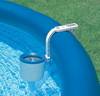 Intex Deluxe Wall Mount Swimming Pool Surface Skimmer - Open Box