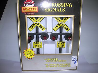Life Like / LGB  Crossing Signals -two  new boxed lot # 9747