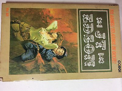 J T Edson To Arms! To Arms In Dixie! Cowboy Western Corgi 1972 1st Paperback