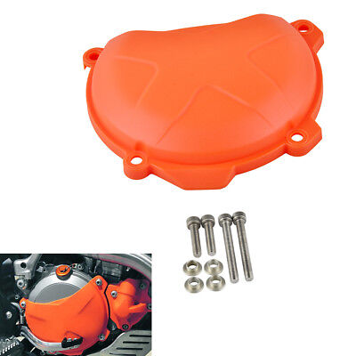 Orange ABS Clutch Cover Protection Guard for KTM 250/350 SX-F/EXC-F/XC-F/XCF-W