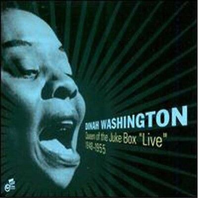 Dinah Washington - Queen of the Jukebox Live 1948-55 [New CD]