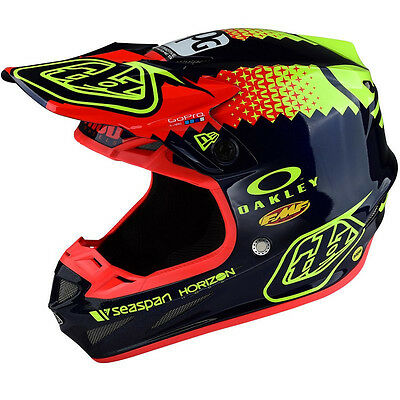 New 2017 Troy Lee Designs Se4 Team Edition Composite Mx Helmet Navy All Sizes