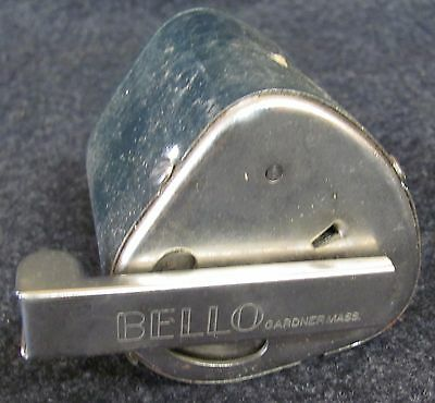 Vintage BELLO Hollow Grinder Razor Blade Sharpener with Directions (AB491)