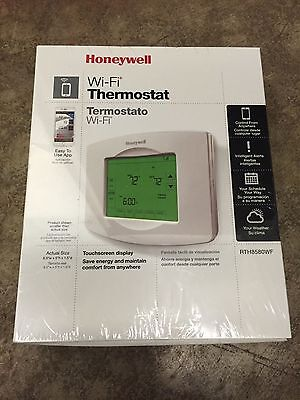New Honeywell RTH8580WF Wifi 7 day Programmable Thermostat iphone compatible NEW