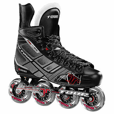 Tour Fish Bonelite 425 Roller Hockey Skates *NEW IN BOX*