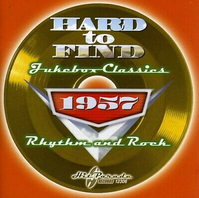 Various Artists - Hard To Find Jukebox Classics 1957: Rhythm and Rock [New CD]