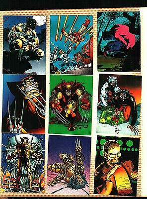 1992 Comic Images Wolverine From Then Til Now II - Complete Set of 90 Cards NM