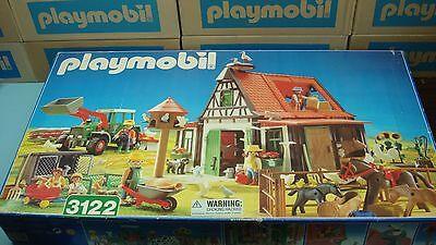 Playmobil 3122 Farm mint in OPEN Box never played for collectors animal toy