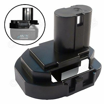 Battery Adapter for Makita BL1430 BL1415 Li-ion 3A 4.0Ah to 14.4V Tool 1240 1450