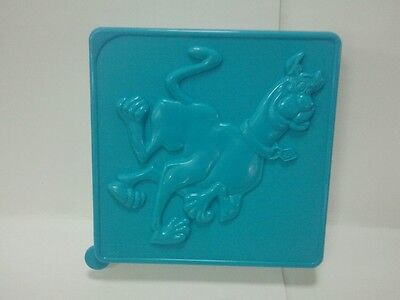 Scooby Doo cartoon plastic snack lunch container Hanna Barbera