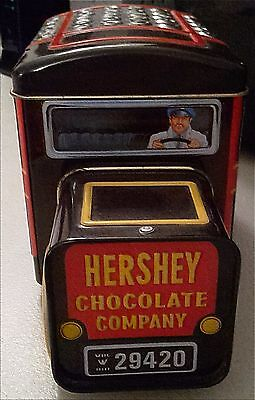 Hershey's Chocolate Company Milk Truck Canister Vintage 2000 Toy
