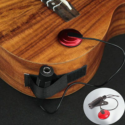 Piezo Microphone Pickup Contact Mic For Guitar Violin Banjo Mandolin Ukulele