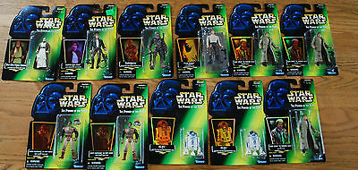 Star Wars Figures (1997) Han Solo, Chewbacca and R2-D2  + 4 others  - $8 each!