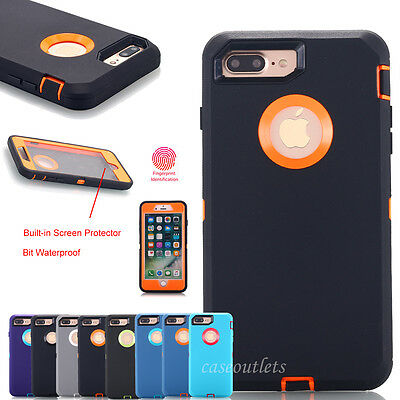Fr iPhone 6 S/7/8 Plus XS Max XR Hybrid Shockproof Heavy Duty Defense Case Cover