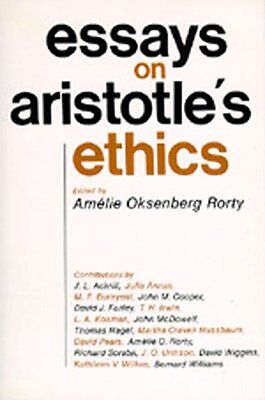 """Essays on Aristotles """"Ethics"""" (Philosophical Traditions),PB,Rorty, Amelie - NEW"""