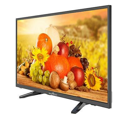 "Tv Televisore Lcd Led 32"" Wide Smart-Tech Dvb-T2/s2 1366X768 3 Hdmi Vga Usb Vsa"