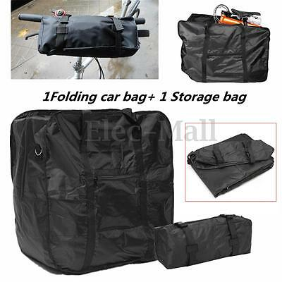 "Mountain Bicycle Bike Folding Carrier Bag Carry Cover for Dahon 14""-20"" Holder"
