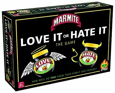 Pants On Fire Games Ltd Marmite The Game Love It Or Hate New UK SELLER