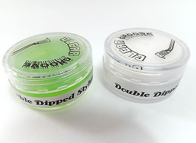 Clear Groove Double Dipped Stylus cleaner - polymer gel & foam dip
