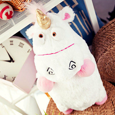 1Pcs Despicable Me Fluffy Unicorn Soft Plush Doll Gifts Decor For Kid Childrens