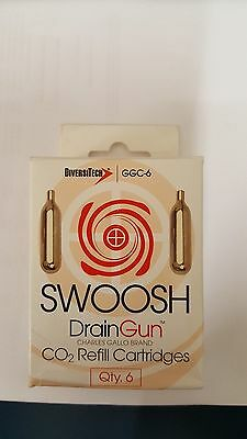 SWOOSH CO2 Refill Cartridges - Pack of 6