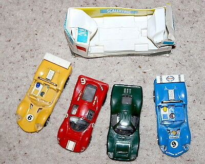 Scalextric vintage collectibles excellent value bundle fully tested A1 condition