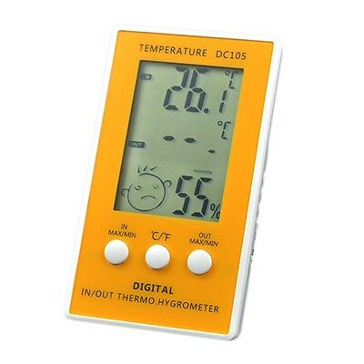 Indoor/Outdoor LCD Digital Electronic Thermometer Hygrometer