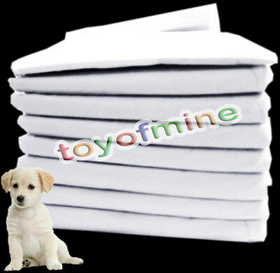100 pcs 33cmx45cm Pet Dog Puppy Training Wee Wee Pee Pads Underpads