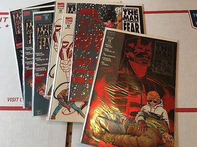 Daredevil The Man Without Fear 1-5 VF+ to NM #1 2 3 3 4 4 5 Miller Romita Jr