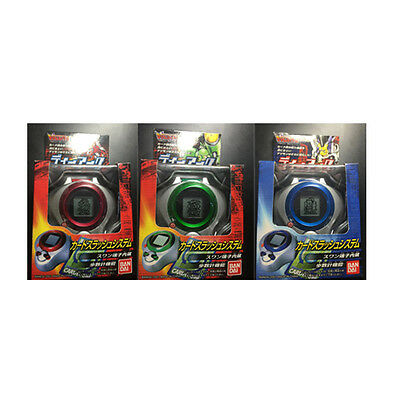 Rare Bandai 2001 Digimon Digivice D Ark 1.0 Complete Set of 3 Red Blue Green