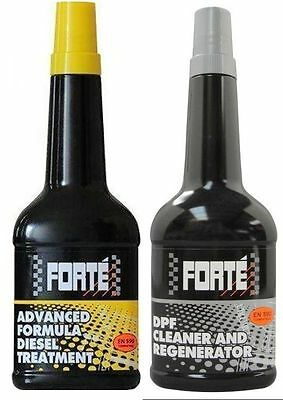 Forte Advanced Formula Diesel Treatment + DPF Cleaner Pack (2x400ml)