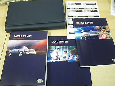 Range Rover L322  Handbook  Owners Manual 2002-2005  - Audio And Wallet