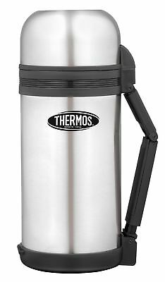 Thermos THERMOcafe: Food & Drink Stainless Steel Vacuum Insulated Flask - 1.2 L