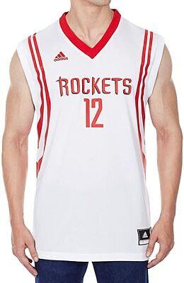 adidas HOUSTON ROCKETS DWIGHT HOWARD 12 REPLICA JERSEY WHITE NBA BASKETBALL  BNWT e9866bf07
