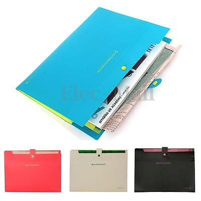 Waterproof 8 Layers A4 Paper File Folder Cover Holder Document Office Organizer